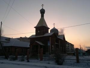 Храм Святого Равноапостольного Великого Князя Владимира город Хилок